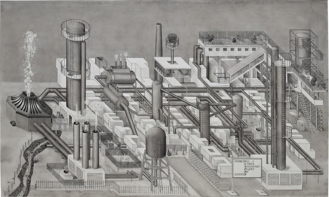 Paul Noble - C.L.I.P.O.N, 1997 (Detail)