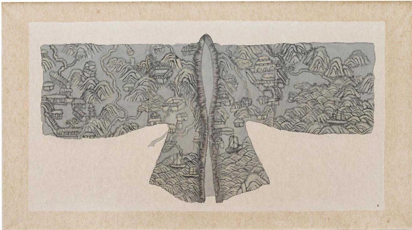 Peng Wei - Robe, 2003 (Detail)