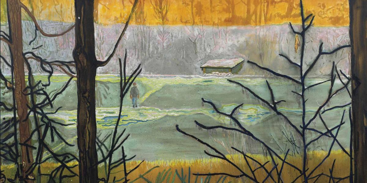 Peter Doig - Almost Grown, 2000