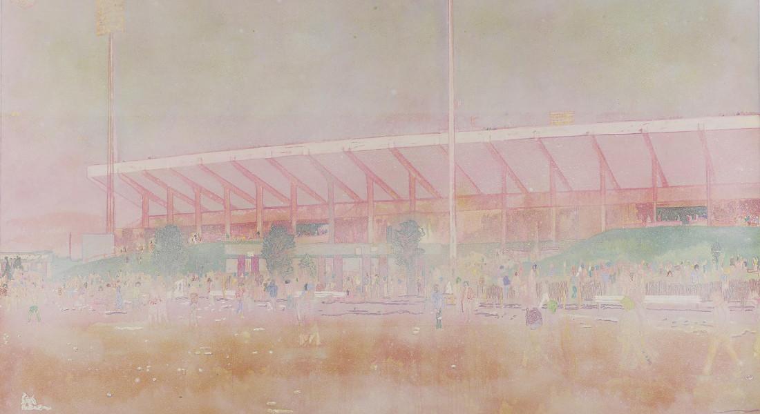 Peter Doig - Buffalo Station I, 1997-98 (Detail)