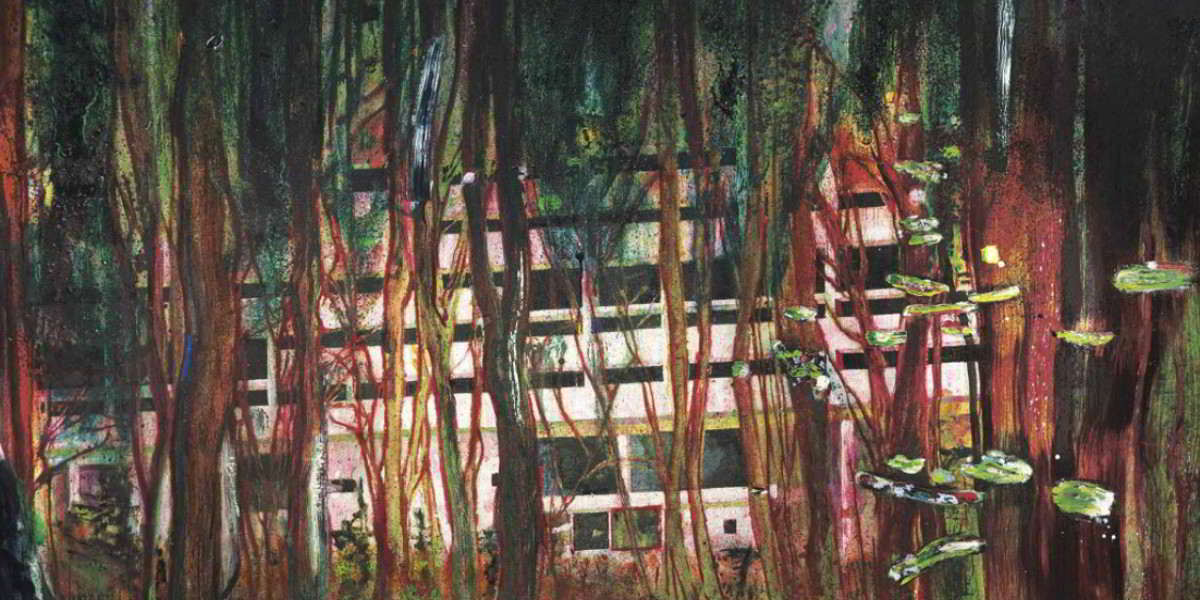 Peter Doig - Cabin Essence (Detail), 1994