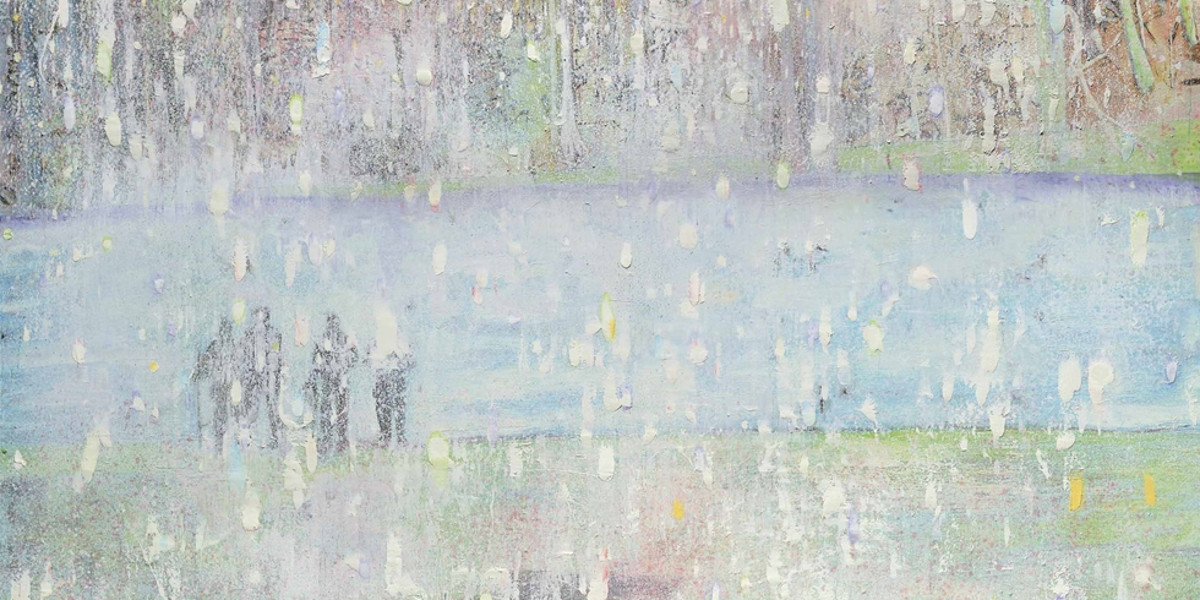 Peter Doig - Cobourg 3 + 1 More, 1994 (detail)