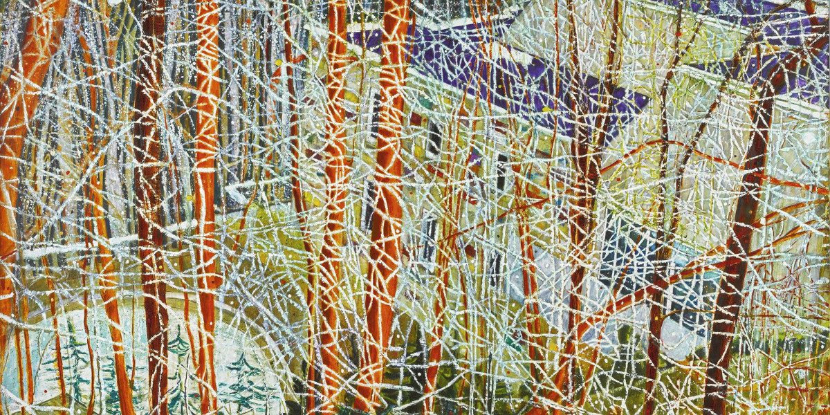 Peter Doig - The Architects Home In The Ravine, 1991 (Detail)
