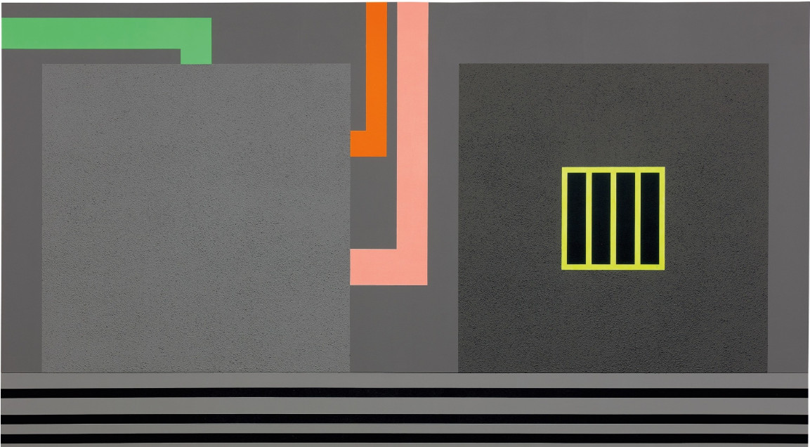 Peter Halley - Nowhere, 1992 (detail)