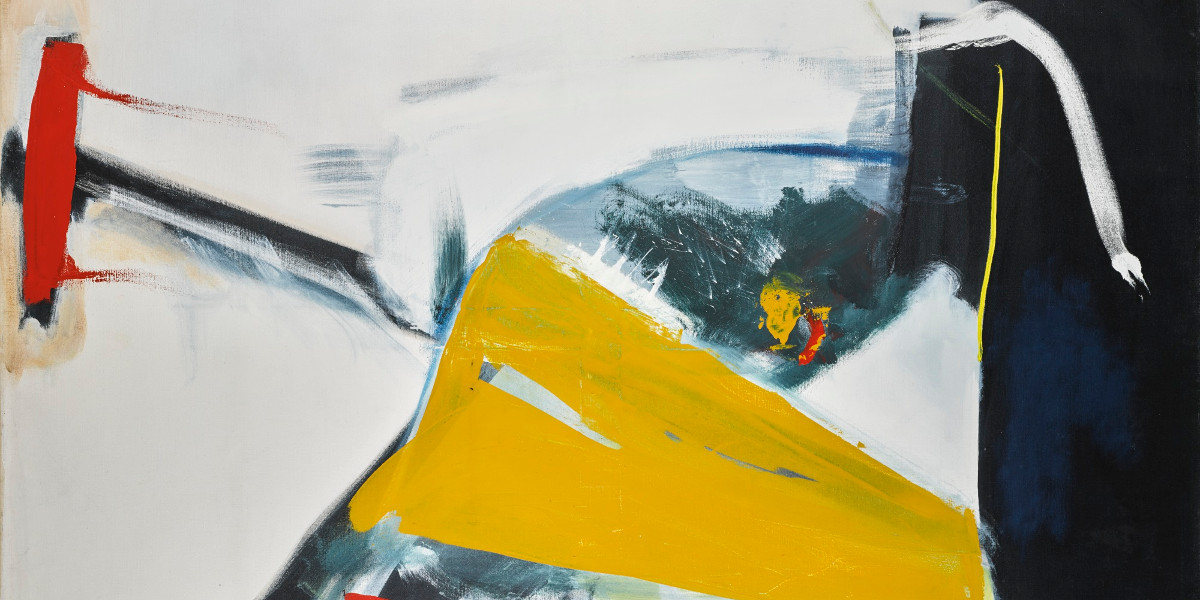 Peter Lanyon - Fly Away, 1961 (detail)