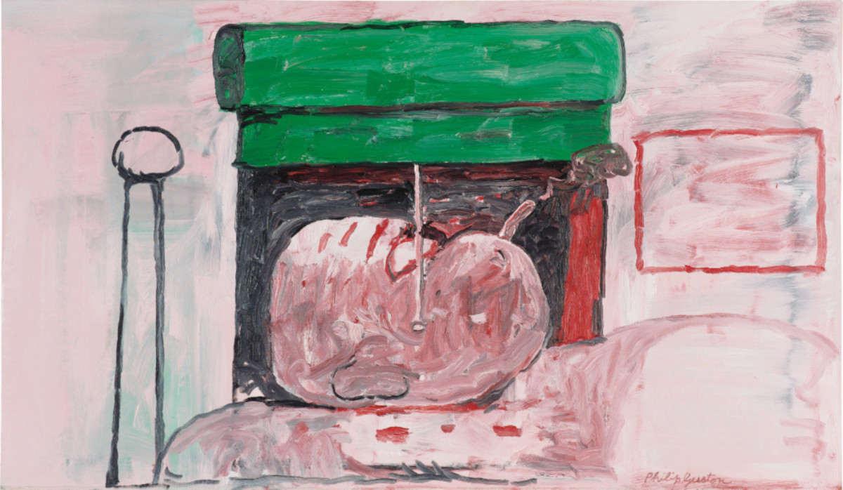 Philip Guston - Smoking II, 1973 (Detail)