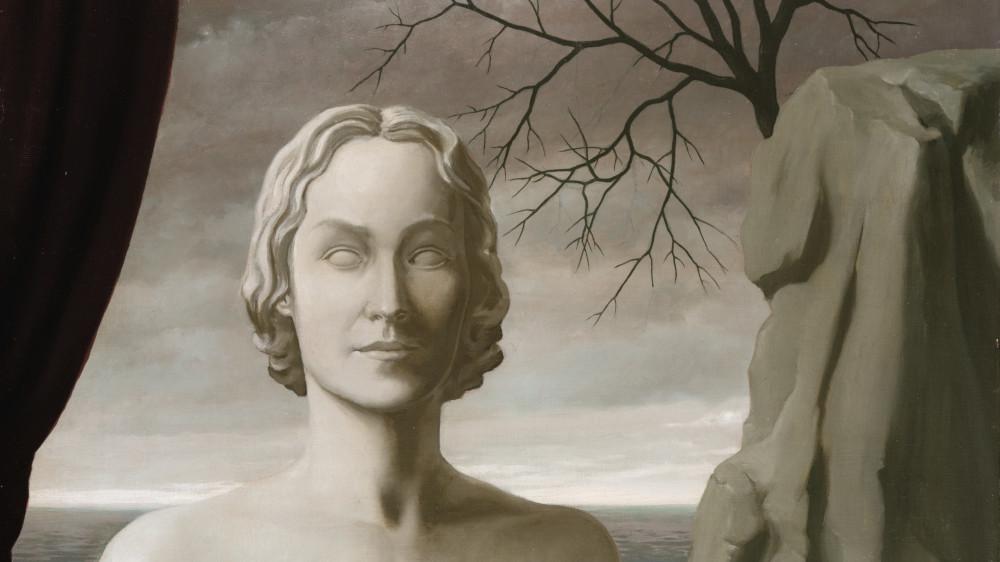 René Magritte - L'Incorruptible, 1940 (detail)