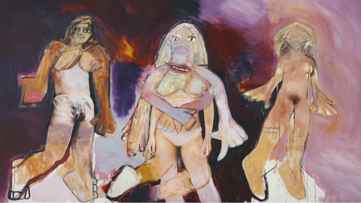 Richard Prince - Untitled (De Kooning), 2007 (detail)
