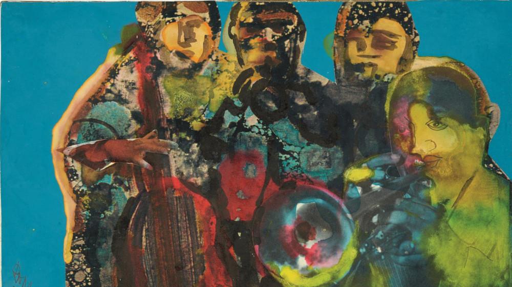Romare Bearden - High C, 1979 (Detail)