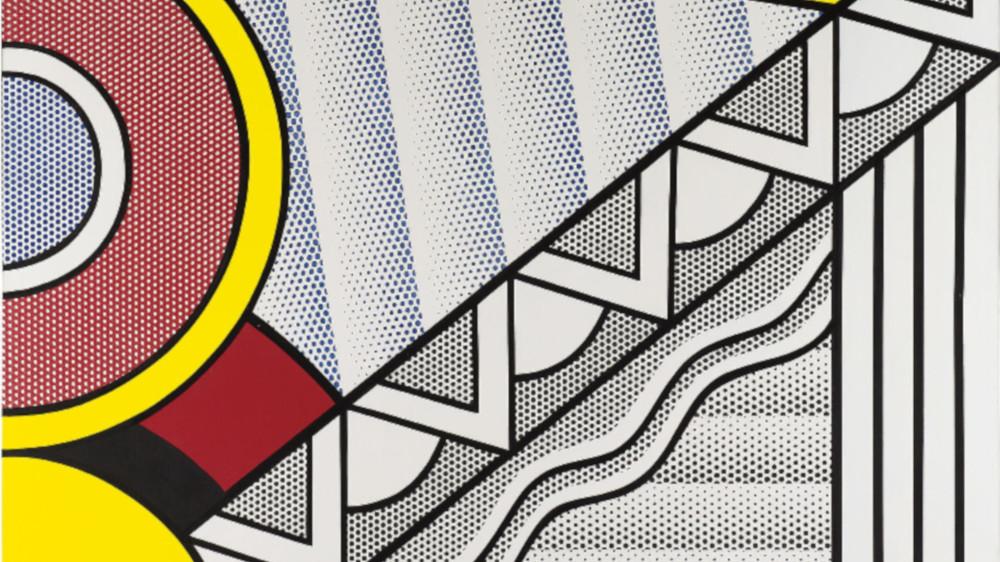 Roy Lichtenstein - Modern Painting, 1967 (Detail)