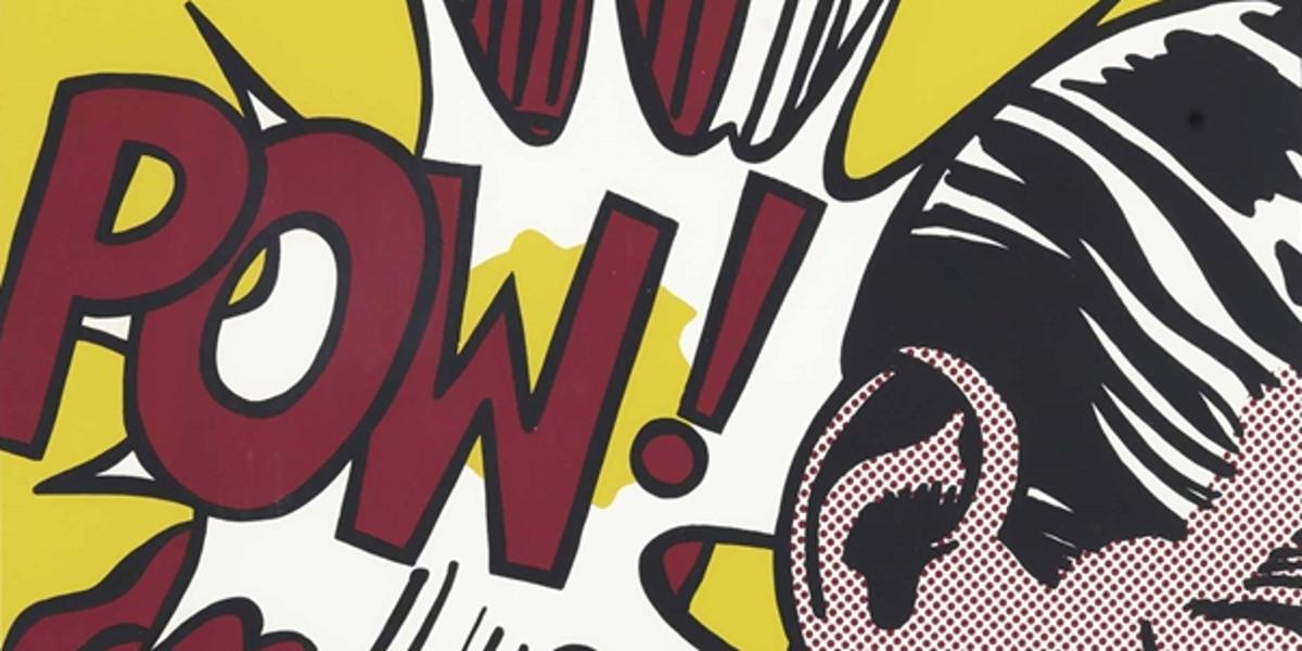 Roy Lichtenstein - Sweet Dreams Baby!, from 11 Pop Artists, Volume III, 1965 (detail)