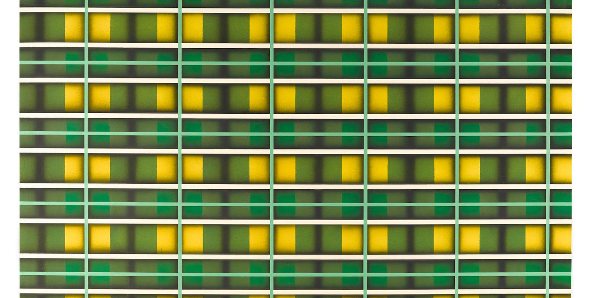 Sean Scully - Green Light, 1972-73 (Detail)