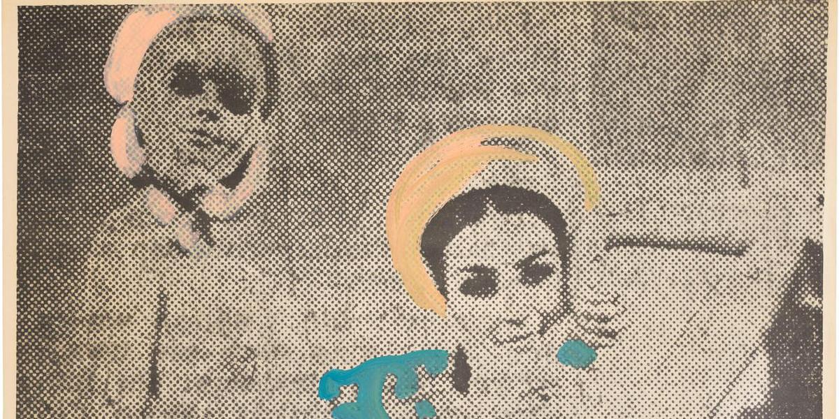 Sigmar Polke - Freundinnen II, 1967 (Detail)