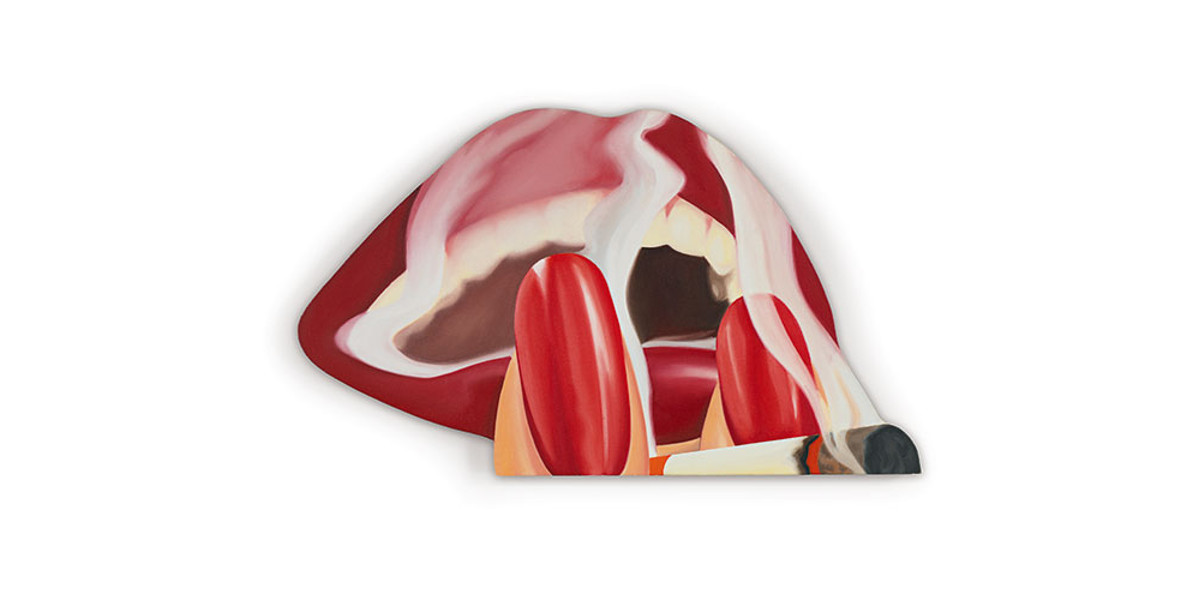 Tom Wesselmann - Big Study For Smoker #26, 1977