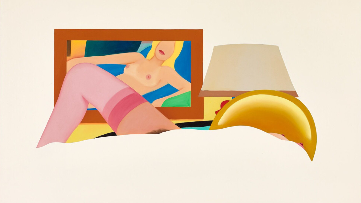 Tom Wesselmann - Study For Drop Out Nude, 1981 (detail)