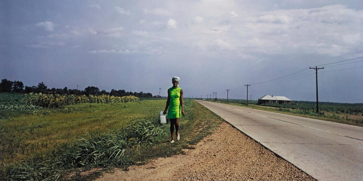 William Eggleston - Untitled (Near Minter City And Glendora, Mississippi), 1970 (Detail)