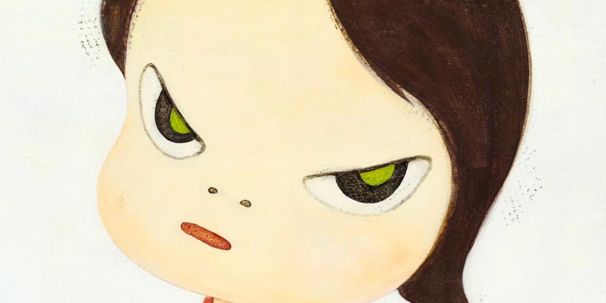 Yoshitomo Nara - S-Girl, 1998 (detail)