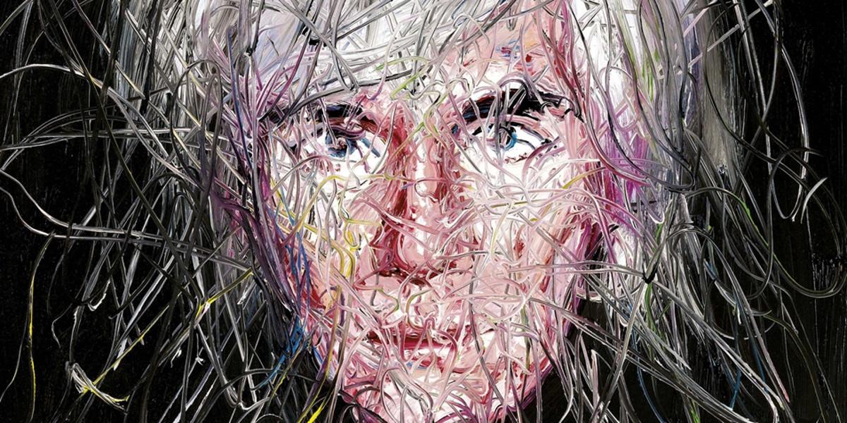 Zeng Fanzhi - Portrait Of Andy Warhol, 2005 (detail)