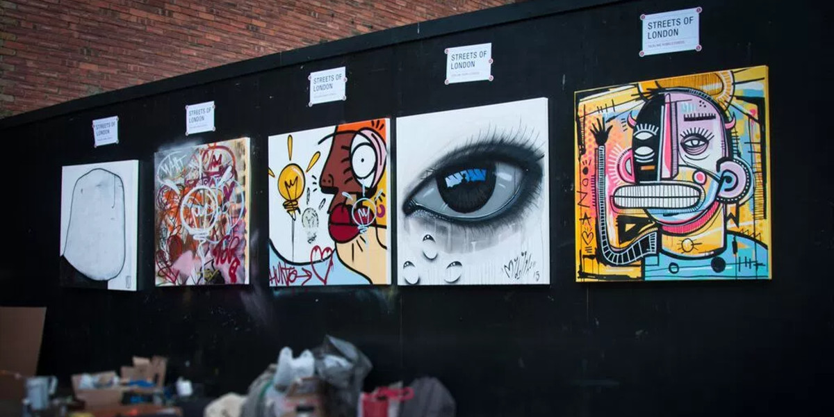 graffitistreet - streets of london charity auction