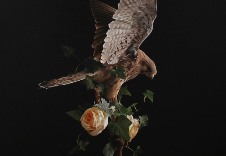 001 David Monllor - Harmony (detail), oil on canvas