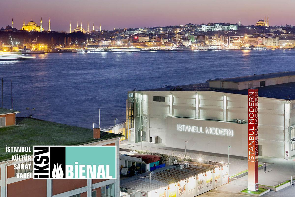 15th Istanbul Biennial - Istanbul Modern, photo by Murat Germen