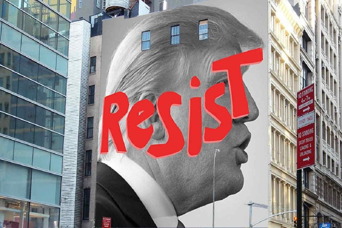 "Resist"" by Sarah Crowner and Nicky Marino"
