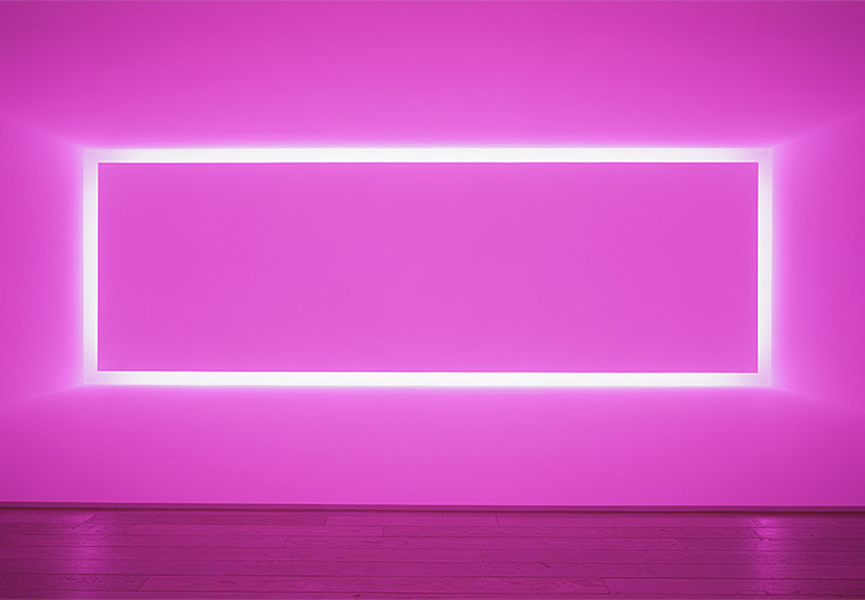 James Turrell - Installation shot