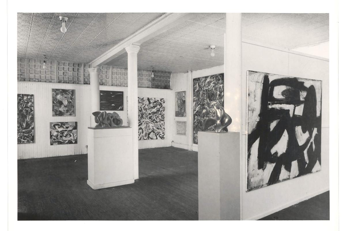 Aaron SiskindNinth Streetshow 1951 Leo Castelli Gallery
