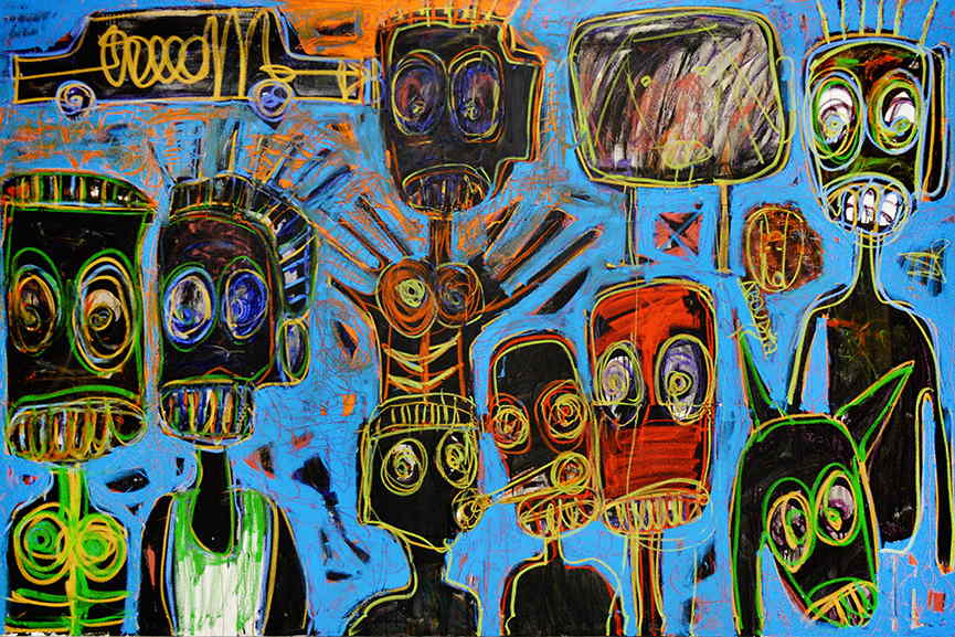 Peintre ivoirien