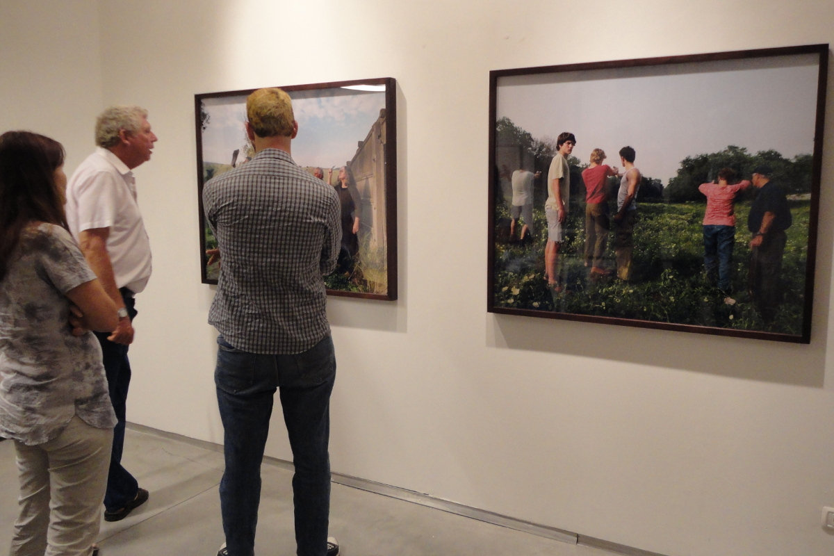 Adi Nes, The Village, May 17, 2012, Sommer Contemporary Art