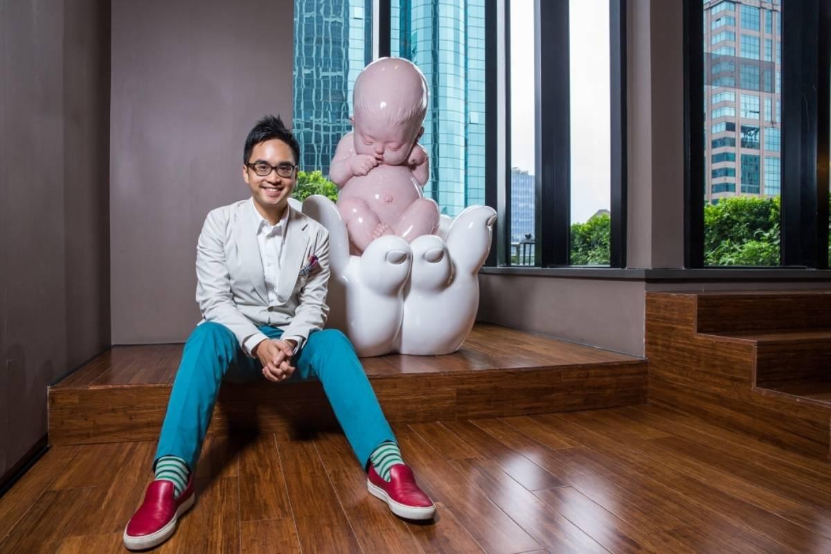 Adrian Cheng (courtesy of larryslist.com)