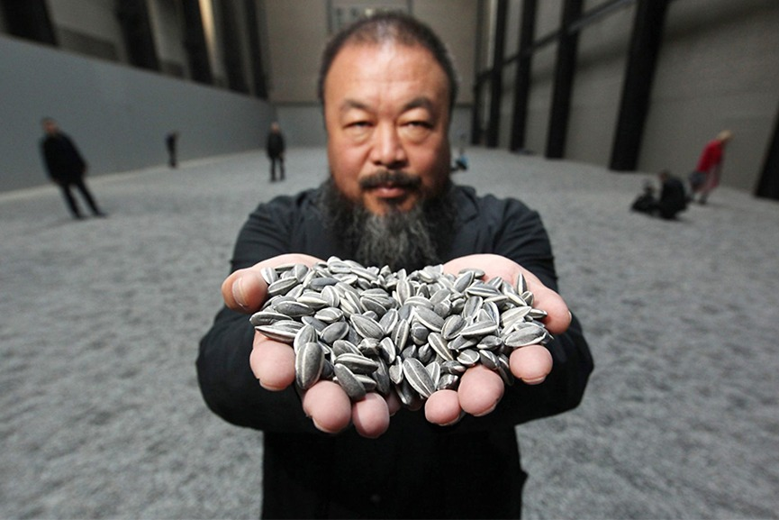 Ai Weiwei and his Sunflower Seeds artwork
