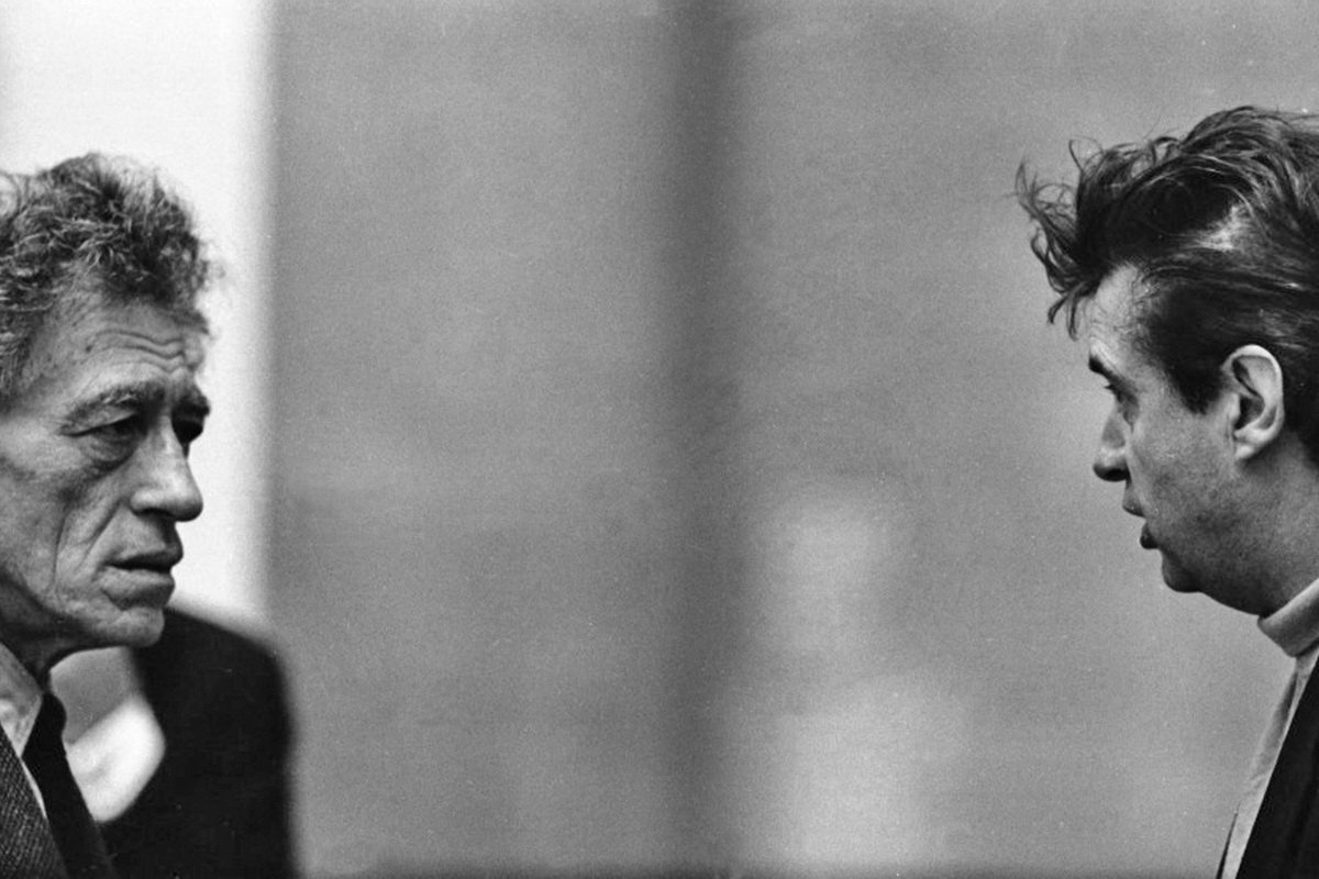 Alberto Giacometti und Francis Bacon, 1965