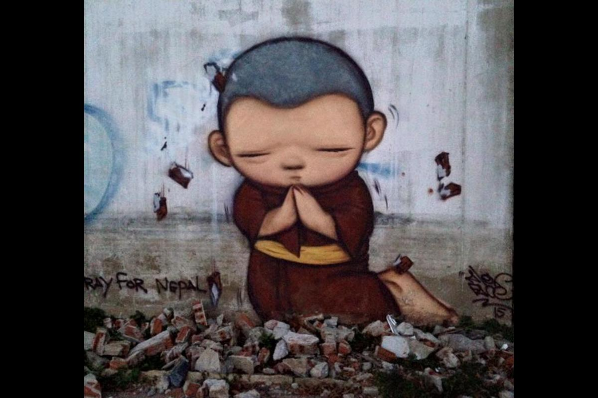 Alex Face - Pray for Nepal. 2015