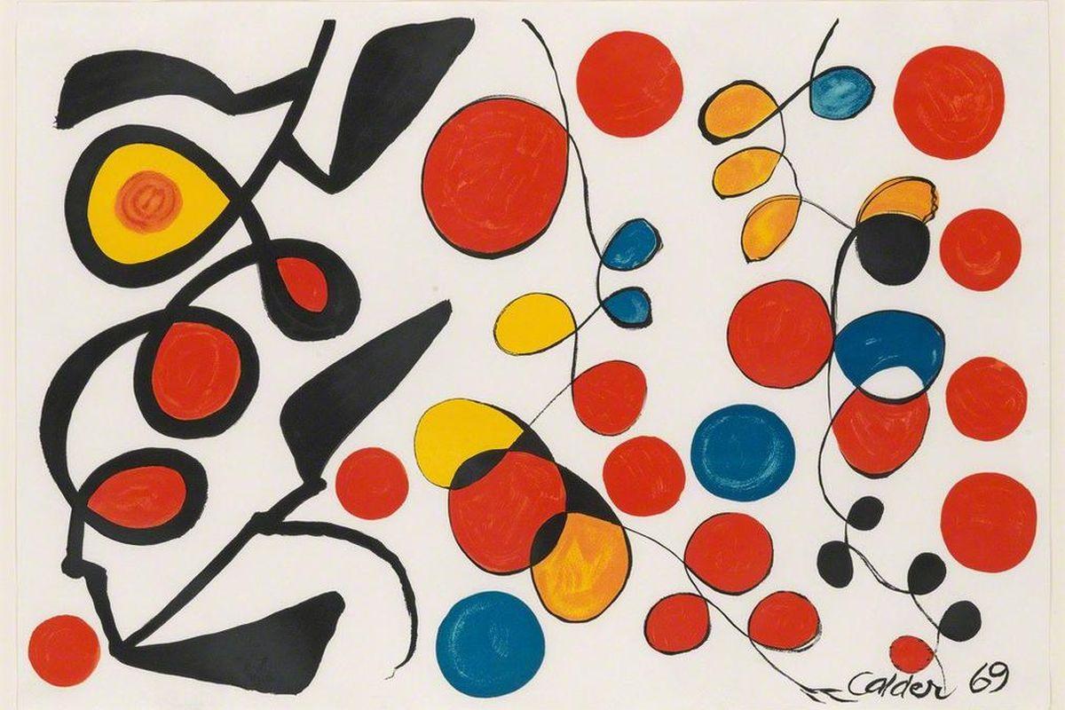 Alexander Calder - Spring Carnival, 1965 f