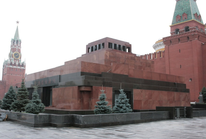 Alexey Shchusev - Lenin's Mausoleum - Image via about-eastern-europecom
