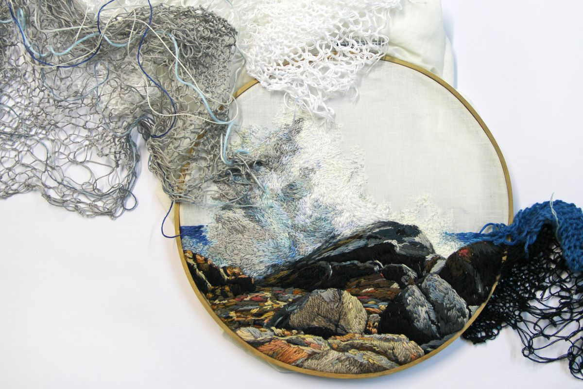The Versatility Of Contemporary Textile Art Widewalls