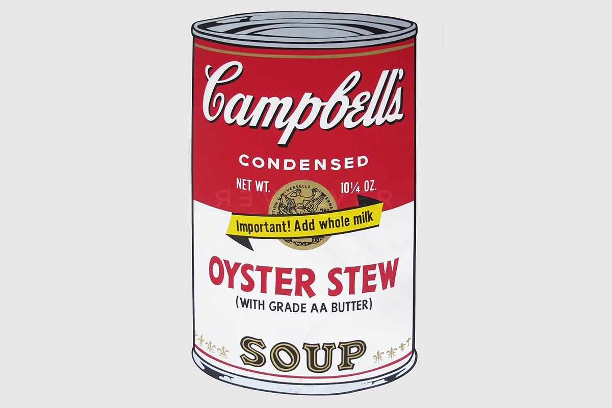 Andy Warhol - Campbell's Soup II_