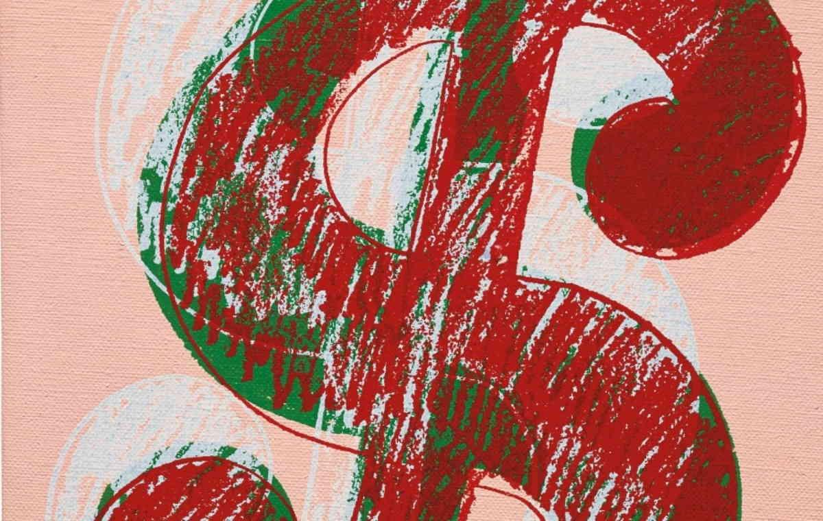 Andy Warhol, Dollar Sign, circa 1981-82 (segment)