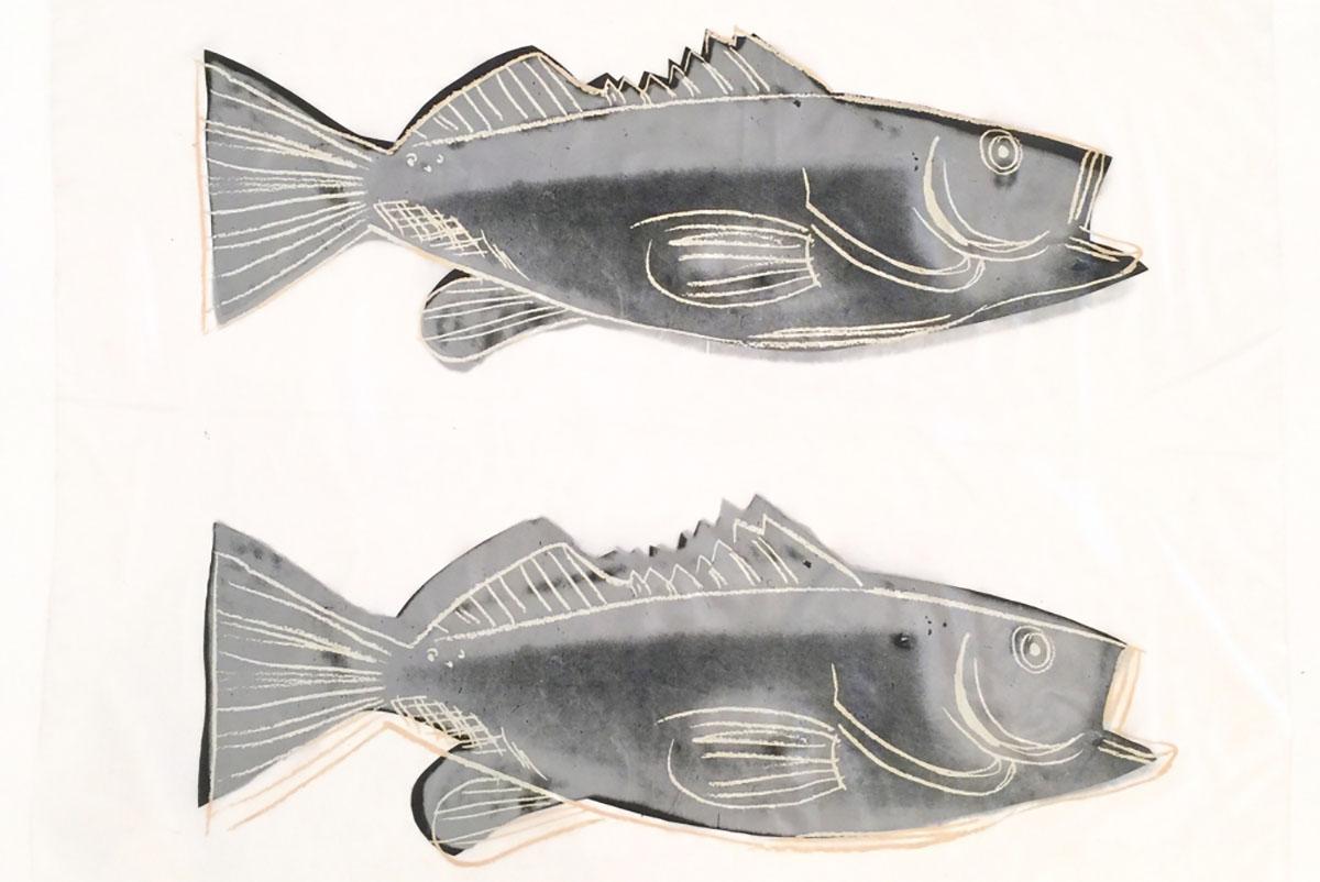 Andy Warhol - FISH (F S CAT. #IIIA.40) cover