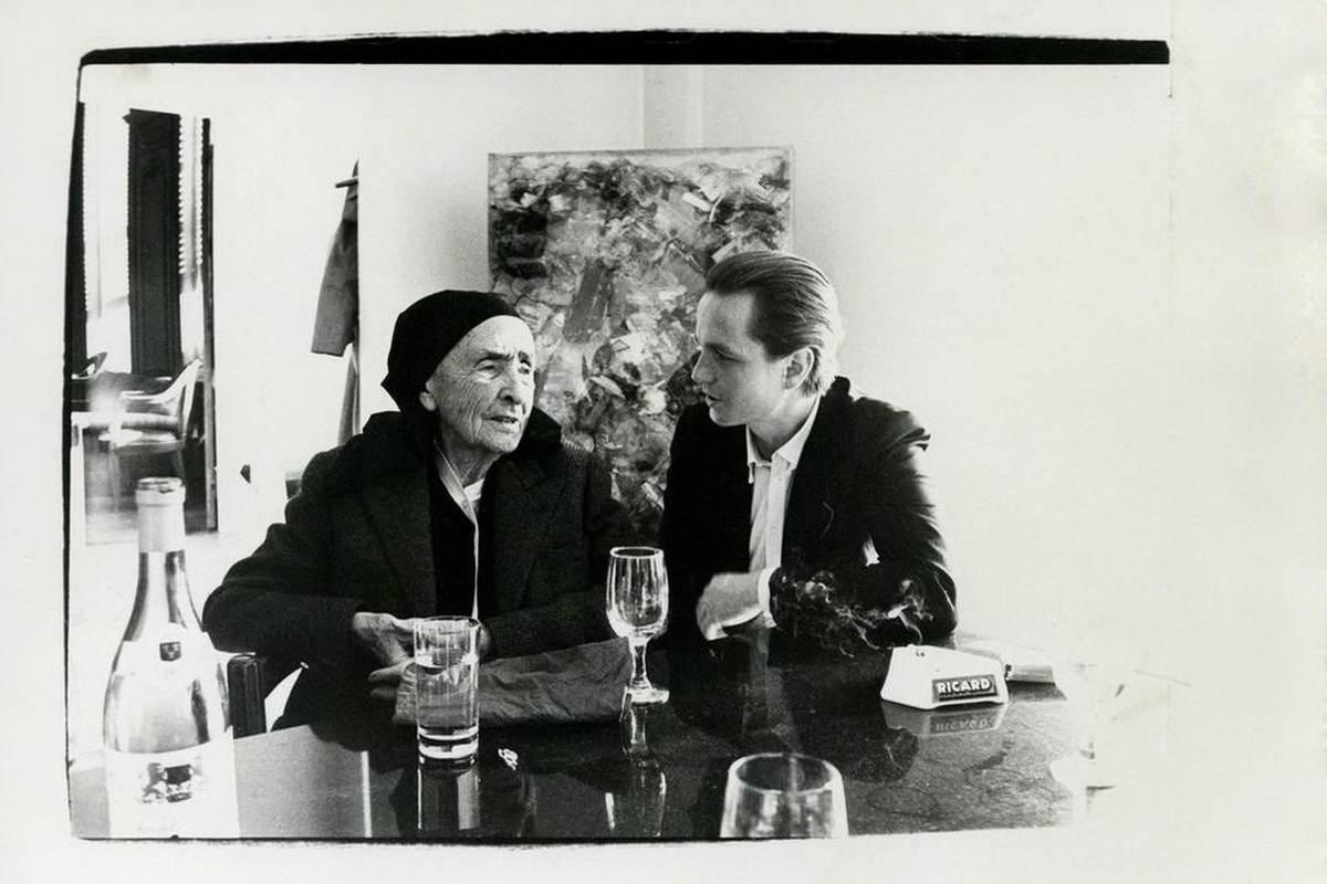 Andy Warhol - Photograph of Georgia O Keeffe and Juan Usle