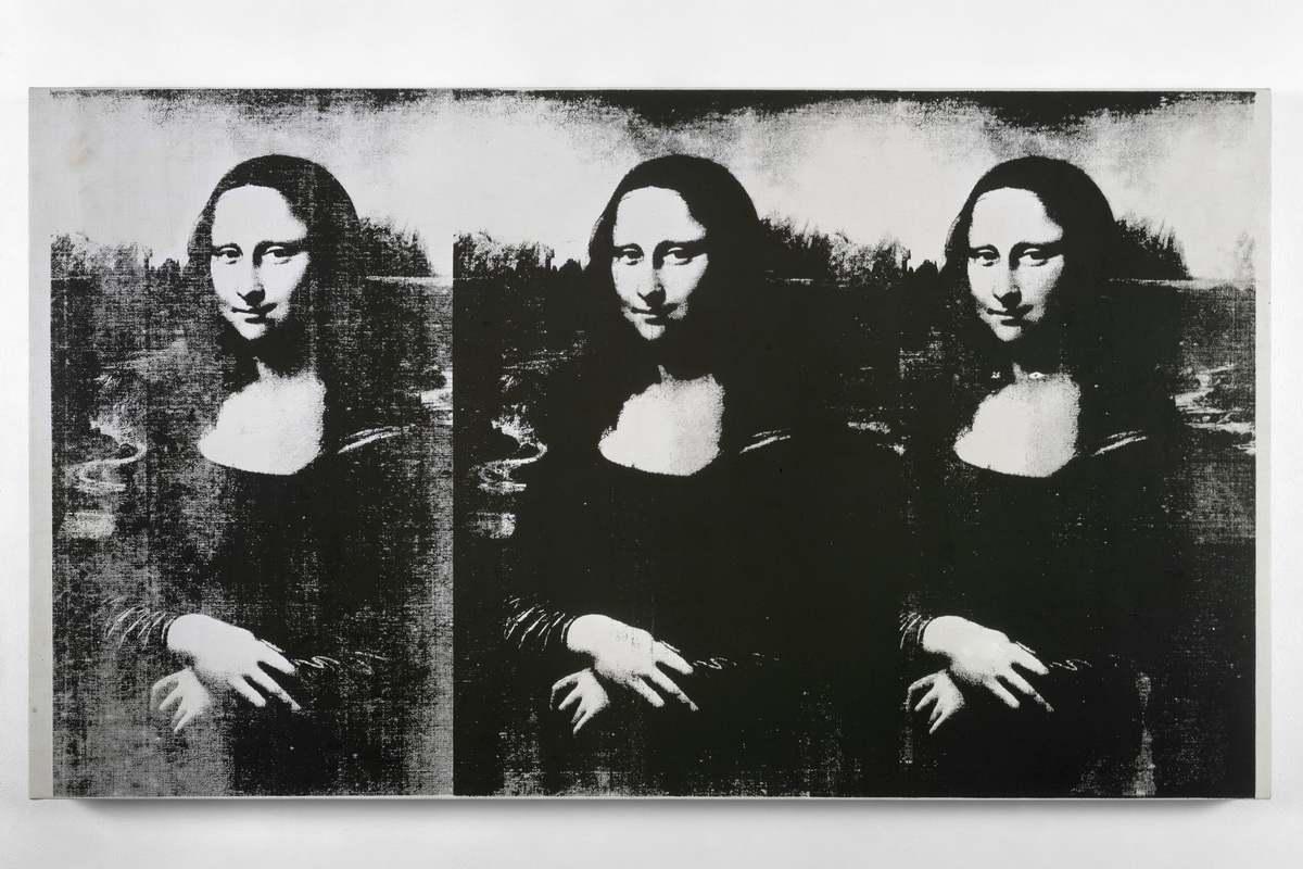 Andy Warhol - Triple Mona Lisa