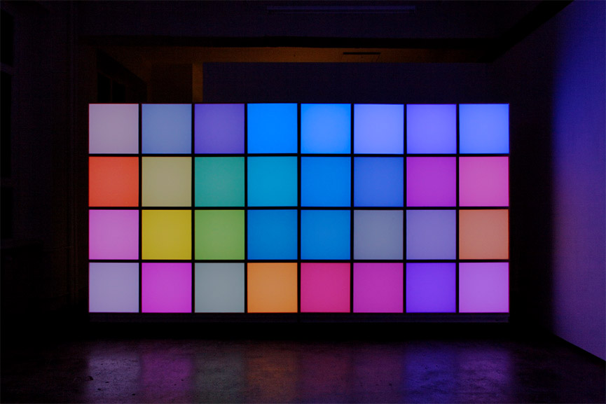 Angela Bulloch - Horizontal Technicolour, 2002-2016