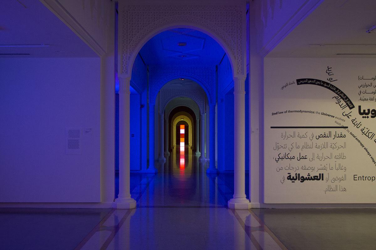 Angela Bulloch, Installation view Sharjah Art Museum 2016. Photo by Michiel Huijben 4