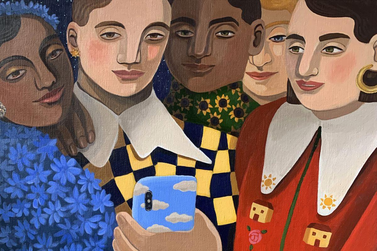 Annabel Faustin - Community (detail)
