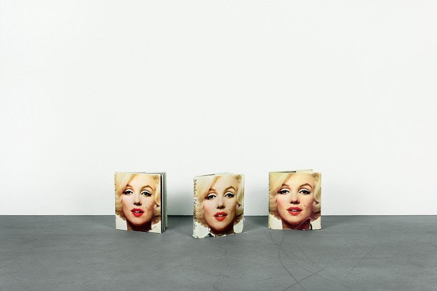 Anne Collier - StudioFloor 3, (Marilyn, Norman Mailer), 2009.