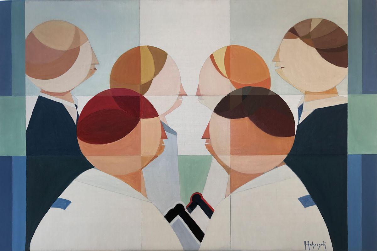 Annemarie Ambrosoli - Hajime, I.T.V. Holz-Art Gallery, Austria, Room 4217