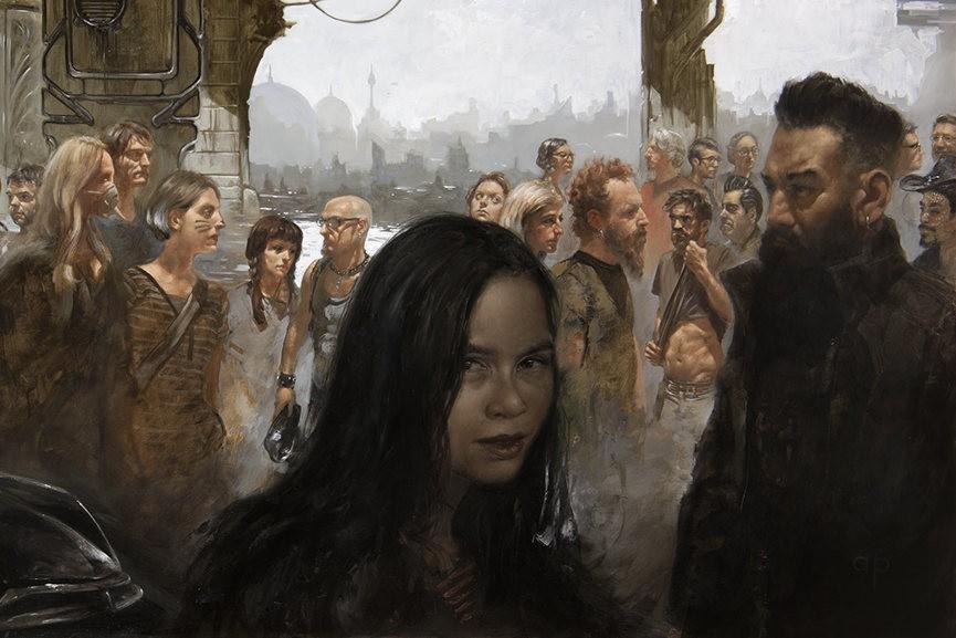 Anthony Palumbo - The Children, detail