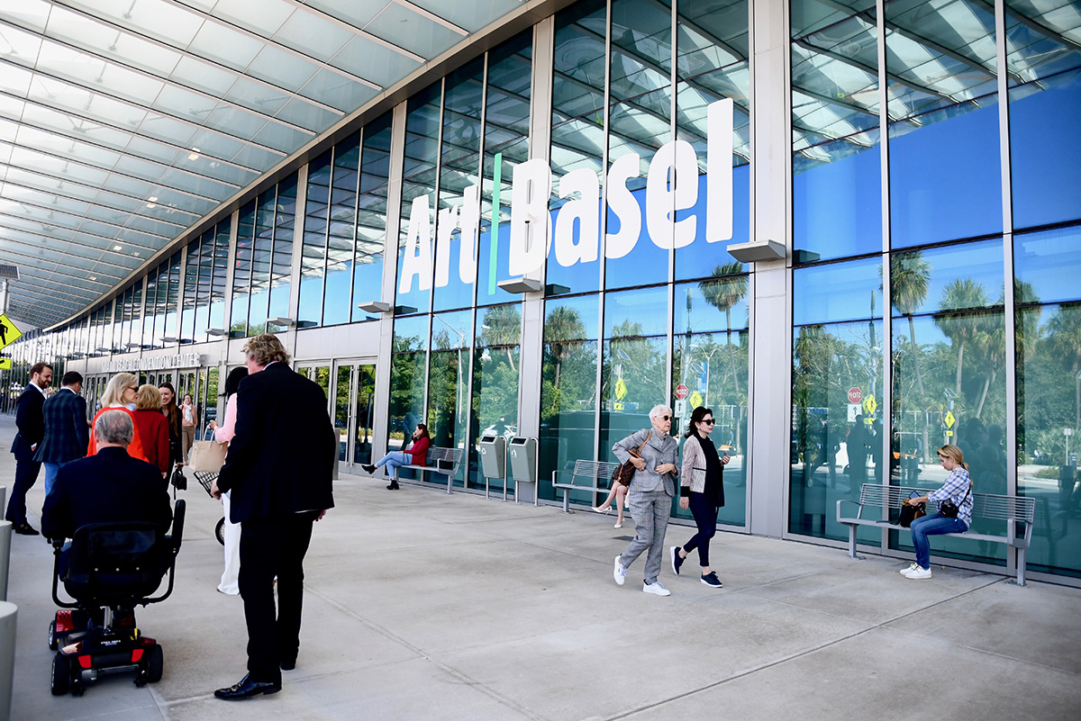 Art Basel Miami Beach Convention Center 2019