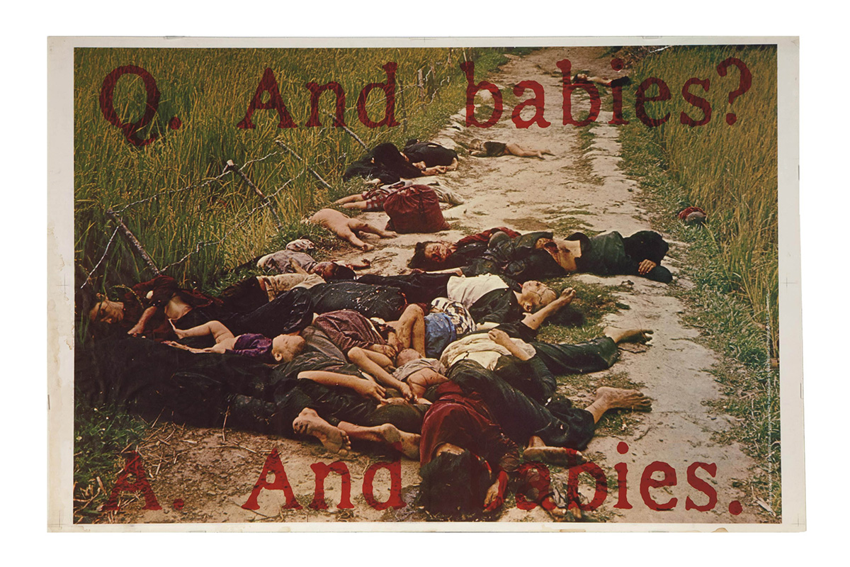 Art Workers Coalition Poster And Babies